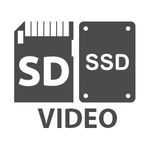 Карты памяти и SSD диски для видео